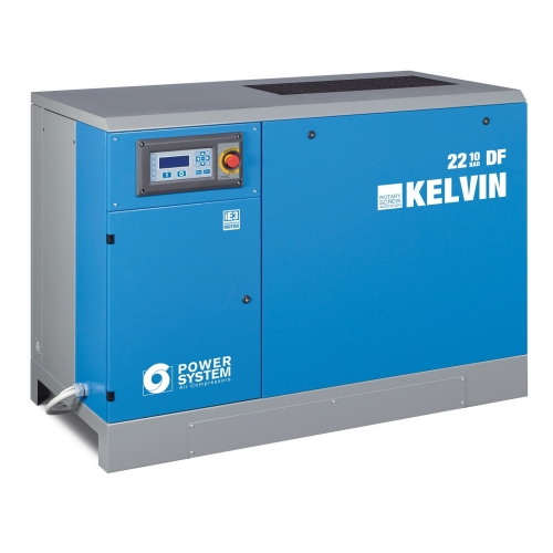 Schraubenkompressor Powersystem KELVIN 22-10 DF MIT Trockner