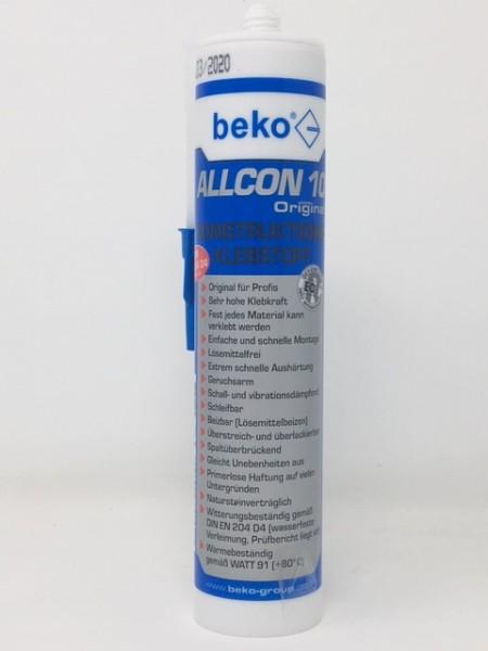 Beko Allcon 10 Konstruktionsklebstoff 310 ml