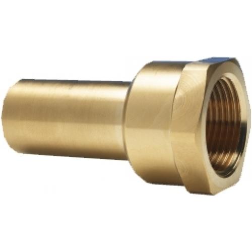 Aufschraubstutzen mit IG 15mm x 1/2 Zoll IG