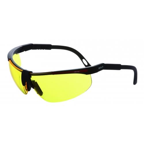 Schutzbrille IMOLA / Anti Fog - UV 400 - GELB