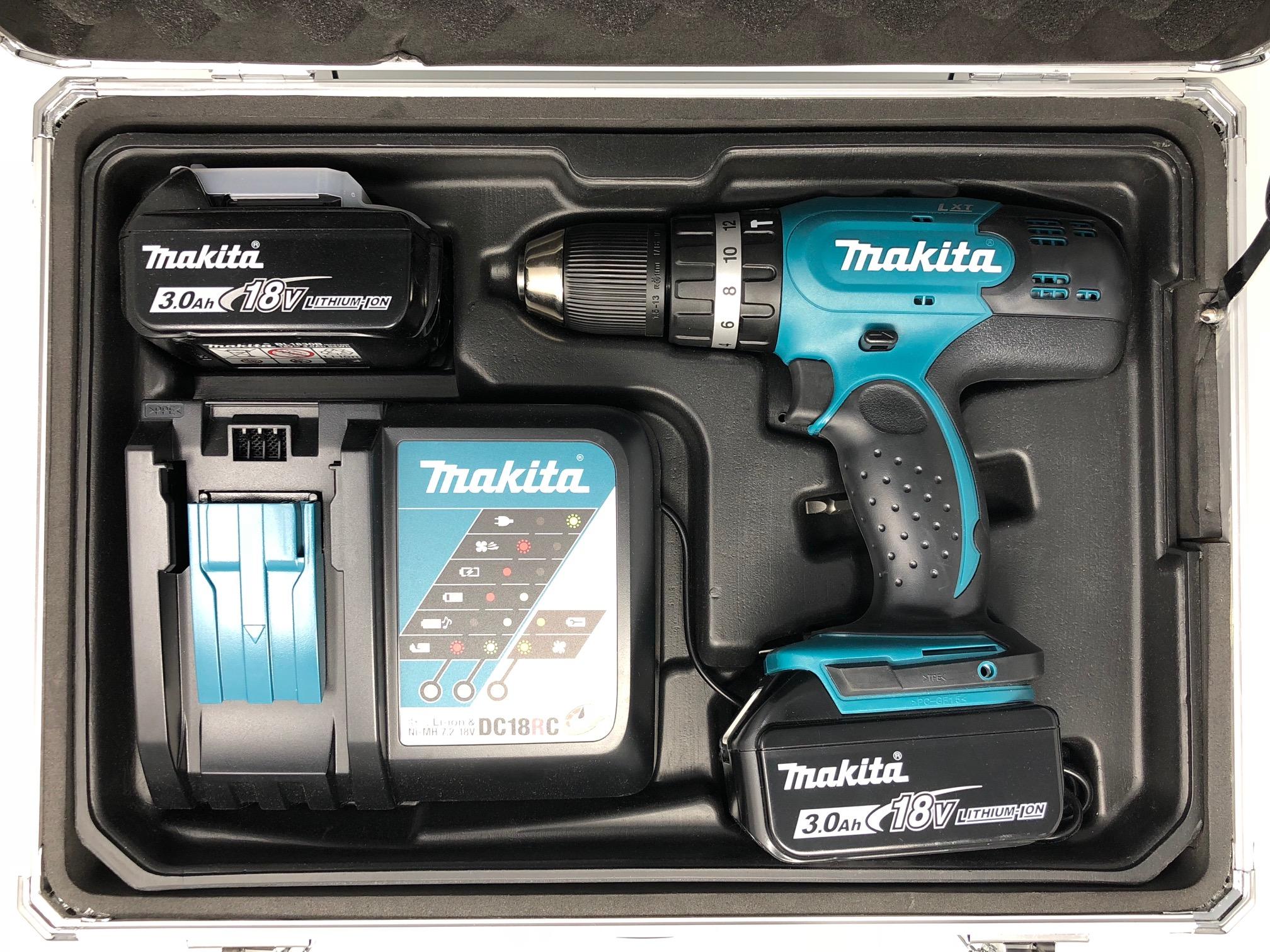 Makita Akku Schlagbohrschrauber Dhp453rfx Giegerich Werkzeuge Shop