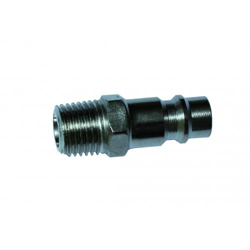 Stecknippel - 1/4 Zoll AG