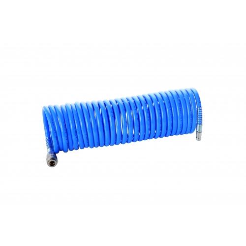 Aerotec 10 M Druckluft Spiral Schlauch Spiralschlauch Kompressor