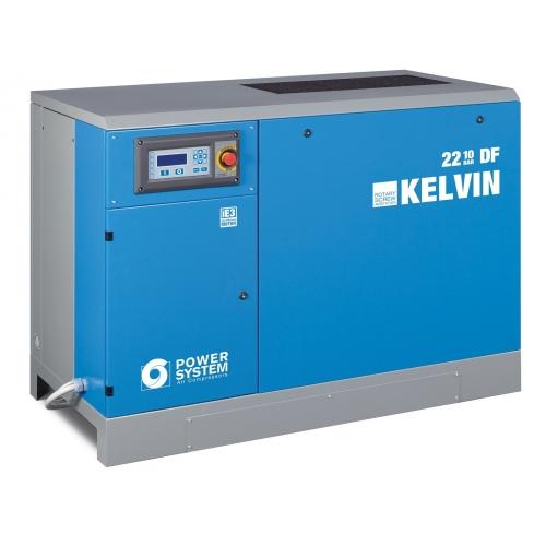 Schraubenkompressor Powersystem KELVIN 7,5-10 DF MIT Trockner