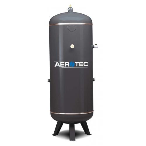 Aerotec Druckluftkessel 90 L stehend - 16 bar grundiert AD2000 OHNE Anbausatz