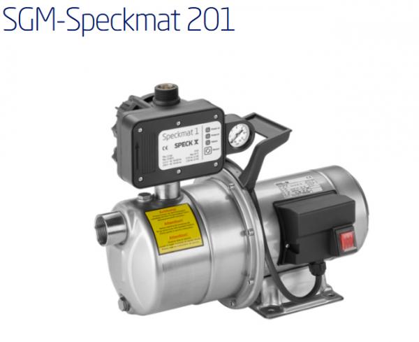 SGM-Speckmat 201, 0,88kW, 230V, mit 1,5m Kabel