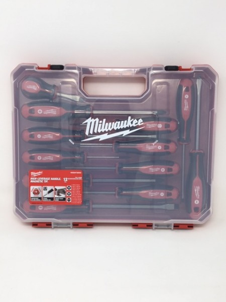 Milwaukee Tri-Lobe Schraubendreher Set 12 teilig