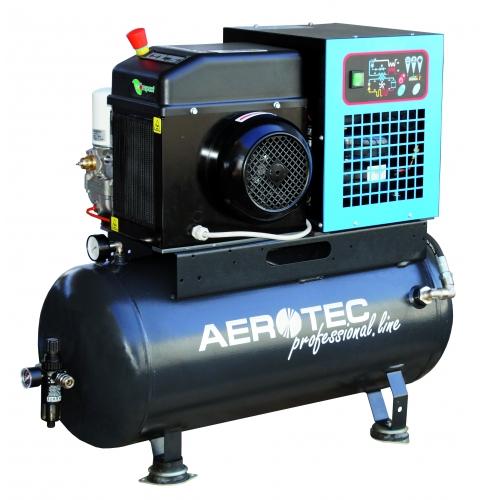 Aerotec Schraubenkompressor COMPACK 2 TR - 90L PRO mit Trockner- 230 Volt