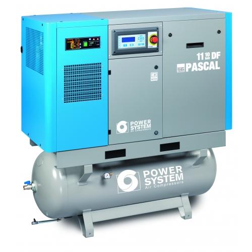 Schraubenkompressor Powersystem PASCAL 2,2-10 270 l Tank mit Trockner