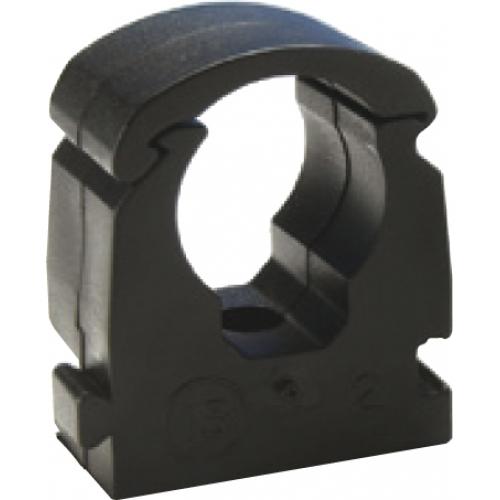 Rohrklemme Außendurchmesser 18 mm schwarz