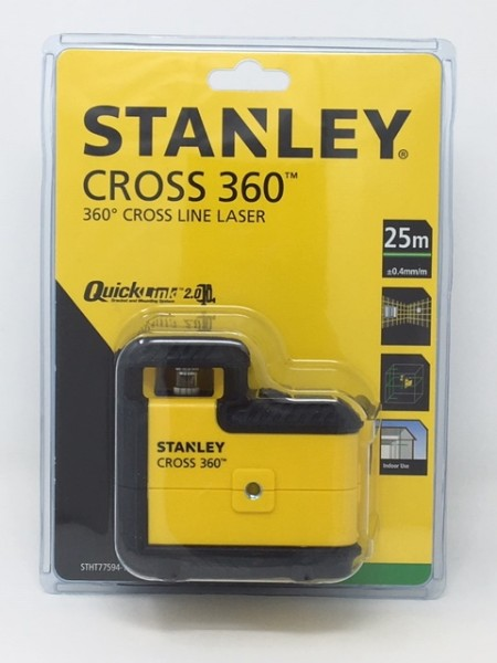 Stanley Linienlaser Cross 360 grün