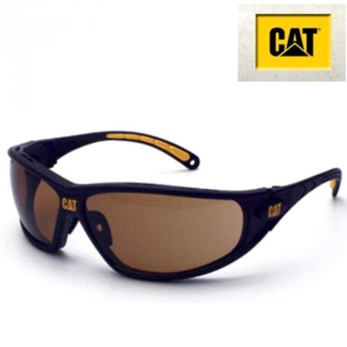 Schutzbrille Tread103 CAT braun