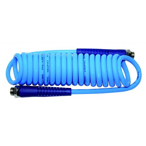 Aerotec Druckluft Spiral Schlauch Spiralschlauch 3 Meter Kompressor