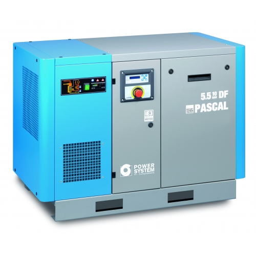 Schraubenkompressor Powersystem PASCAL 5,5-10 mit Trockner
