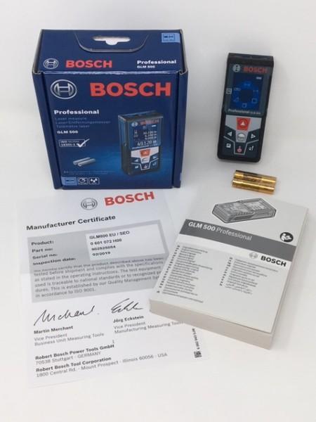 Bosch Laser-Entfernungsmesser GLM500 0601072H00