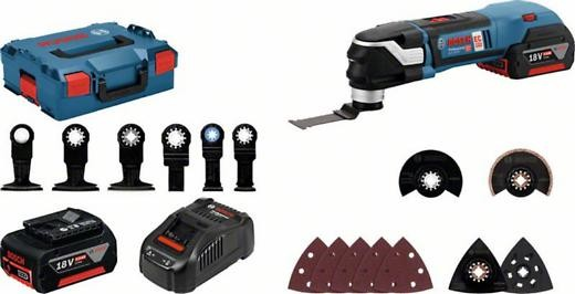 Bosch Akku-Multi-Cutter GOP 18 V-28 2x 5.0 Ah Akkus 06018B6003