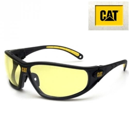 Schutzbrille Tread112 CAT gelb