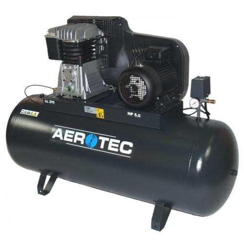Aerotec Druckluftkompressor Kompressor Anlage ölgeschm. liegend 400 V