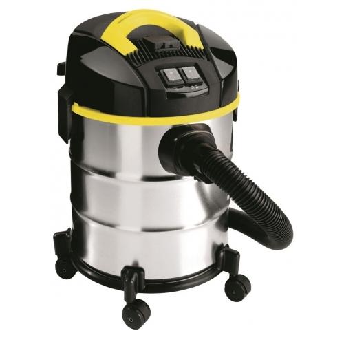LAVOR Nass- und Trockensauger Venti XE Evo 1400 Watt mit 20 L Behälter und Gerätesteckdose