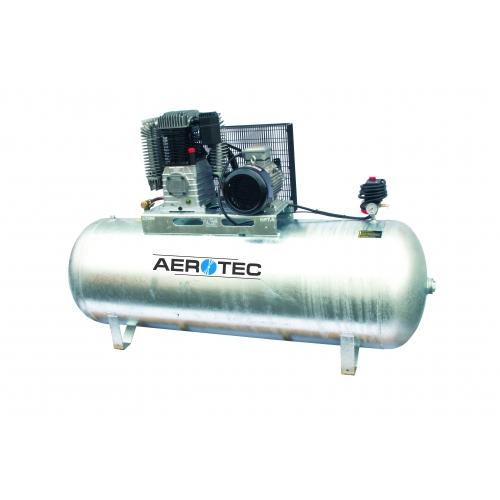 Aerotec N60-500 Z PRO liegend - 400 Volt verzinkt Kompressor ölgeschmiert