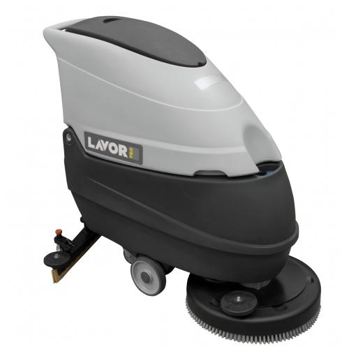 Bodenreinigungsmaschine FREE EVO 50B mit Batterien und Batterieladegerät