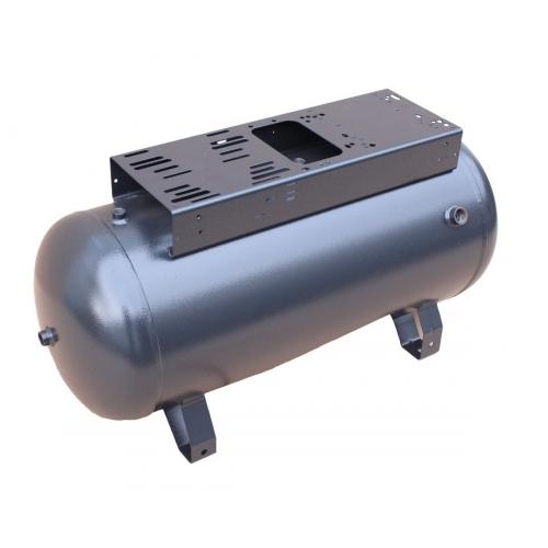 Druckluftkessel 50 L liegend - 11 bar mit Konsole OHNE Anbausatz