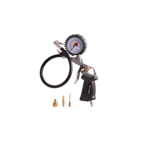 Aerotec Druckluft Reifenfüller Luftdruckprüfer PSI 30 cm Schlauch