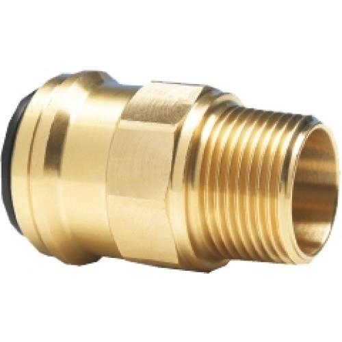 Einschraubverbinder - Außendurchmesser 15 mm - 1/2 Zoll BSPT