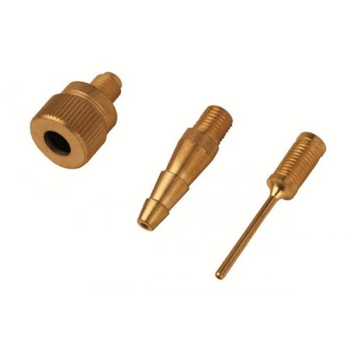 Reifenfüller GEEICHT mit 30 cm Schlauch inkl.3er Adapter Set