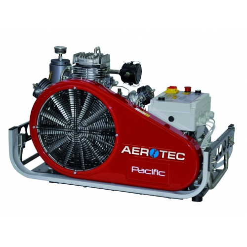 Aerotec Hochdruck-/Atemluftkompressor PACIFIC E 27 - 330 bar