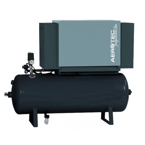 Aerotec Industrie Kompressor CK 20-10/270 Liter SILENT liegend V - 1 stufig ÖLFR