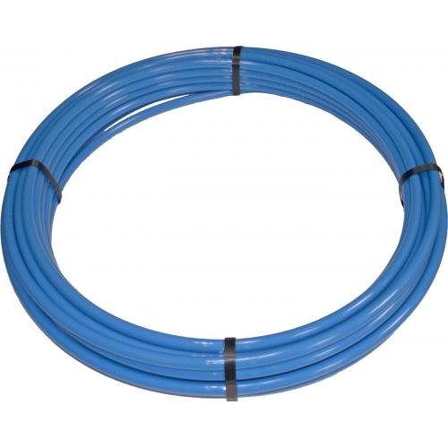 (GP: 3,76 €/m) PA12-Rohr weich Außendurchmesser 15 mm blau - 25 Meter
